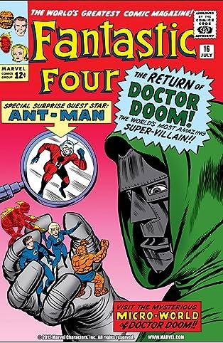 Fantastic Four (1961-1998) #16