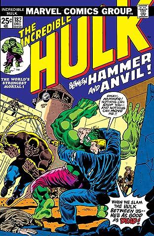 Incredible Hulk (1962-1999) #182