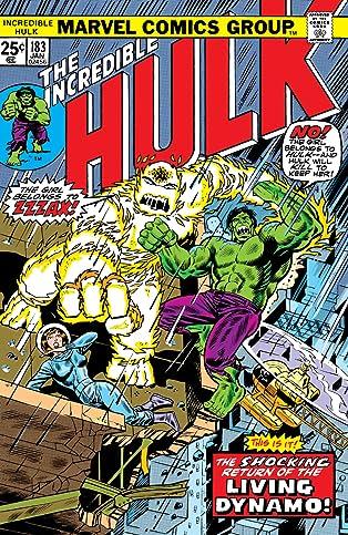 Incredible Hulk (1962-1999) #183