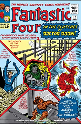 Fantastic Four (1961-1998) No.17