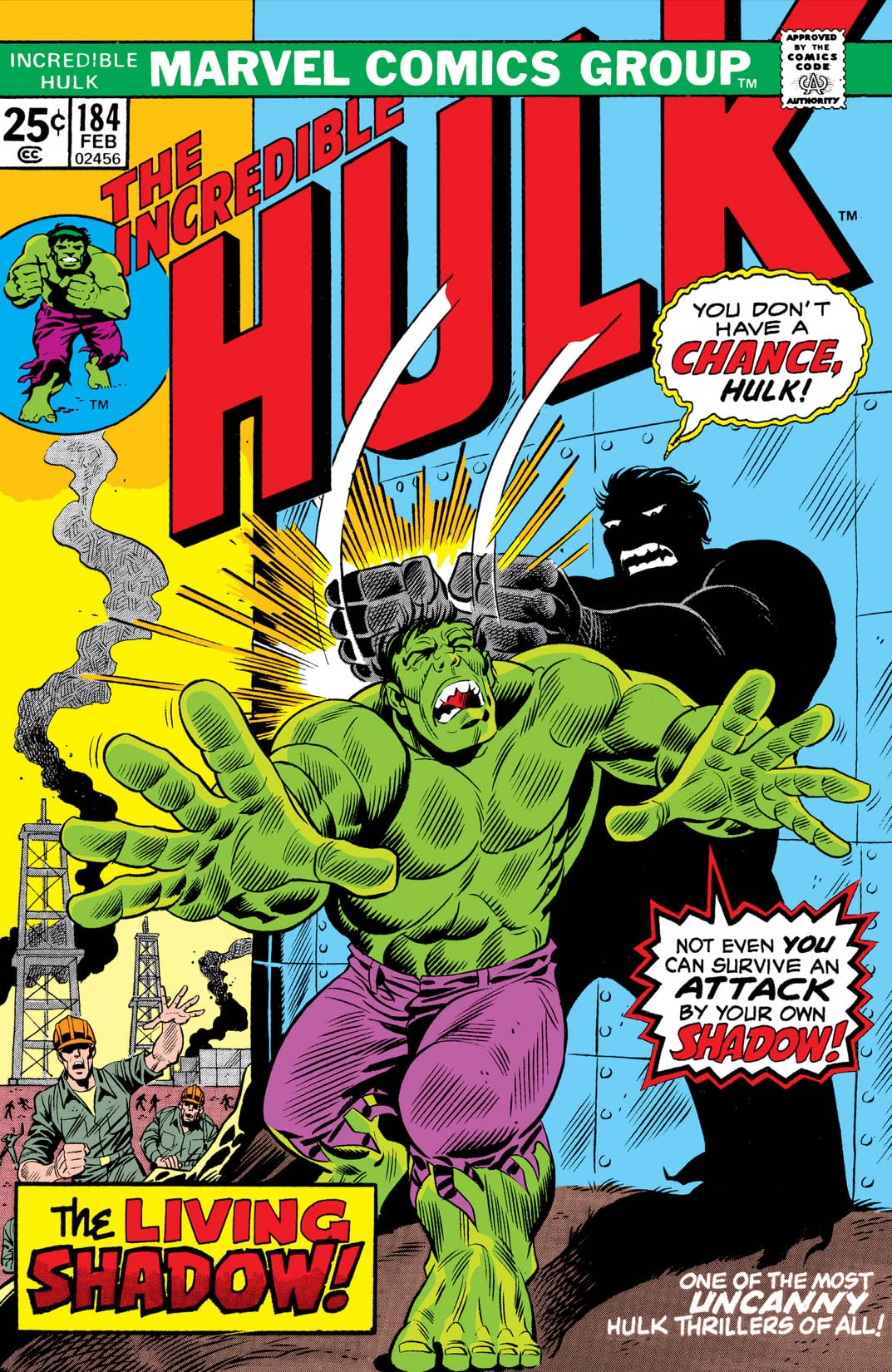 Incredible Hulk (1962-1999) #184
