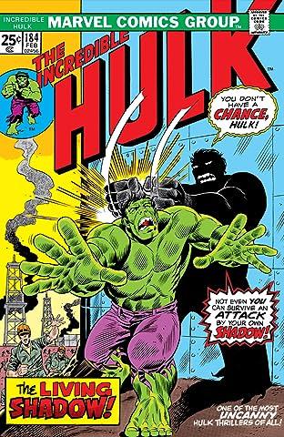 Incredible Hulk (1962-1999) #184