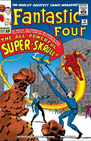 Fantastic Four (1961-1998) No.18