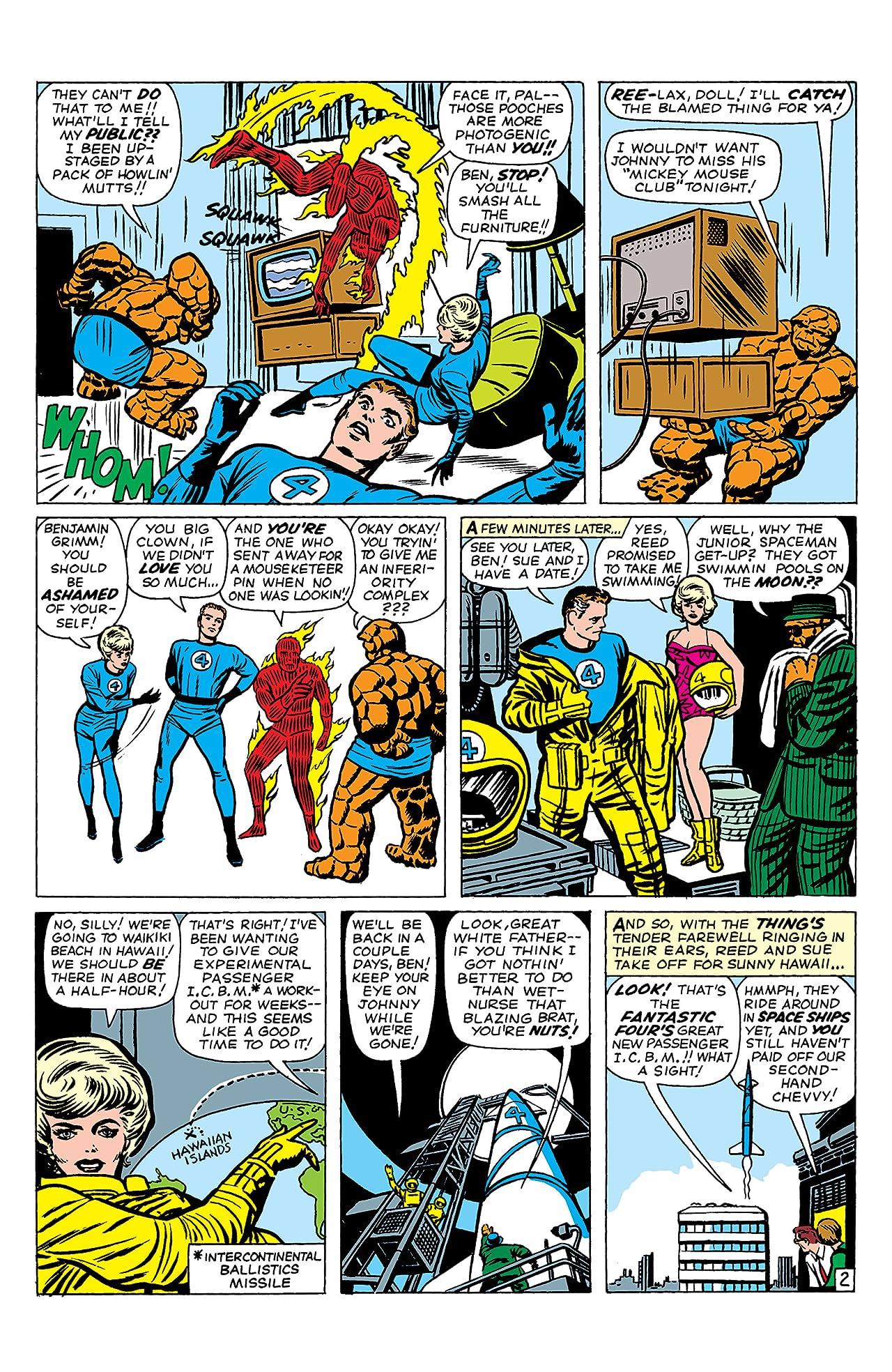 Fantastic Four (1961-1998) #18