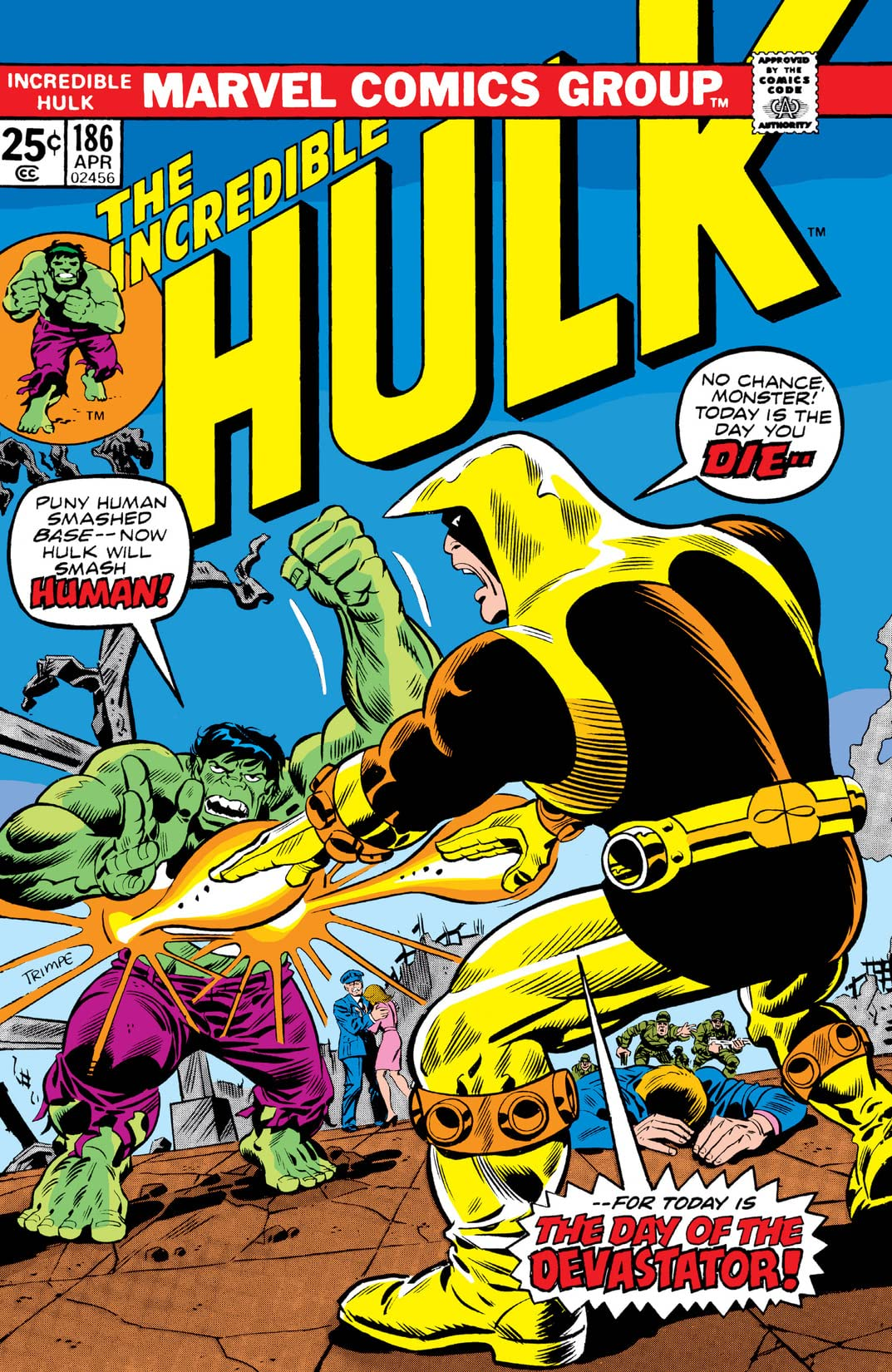 Incredible Hulk (1962-1999) #186