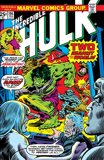 Incredible Hulk (1962-1999) #196