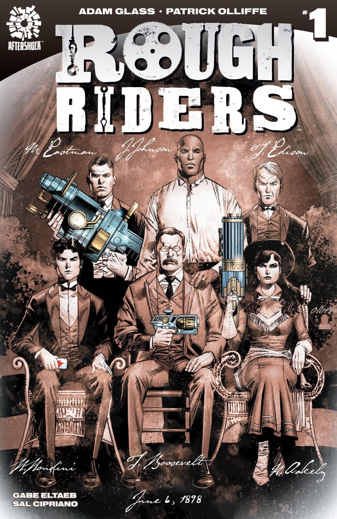 Rough Riders #1