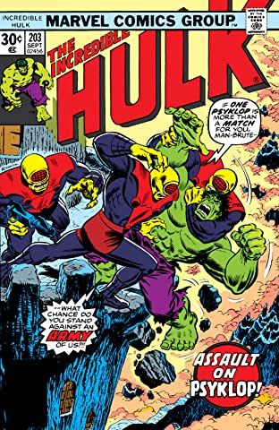 Incredible Hulk (1962-1999) #203