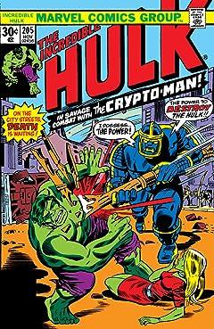 Incredible Hulk (1962-1999) #205