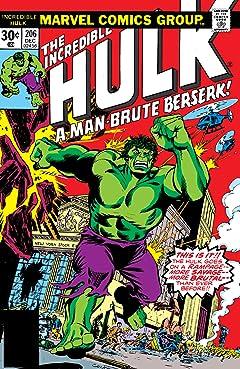 Incredible Hulk (1962-1999) #206