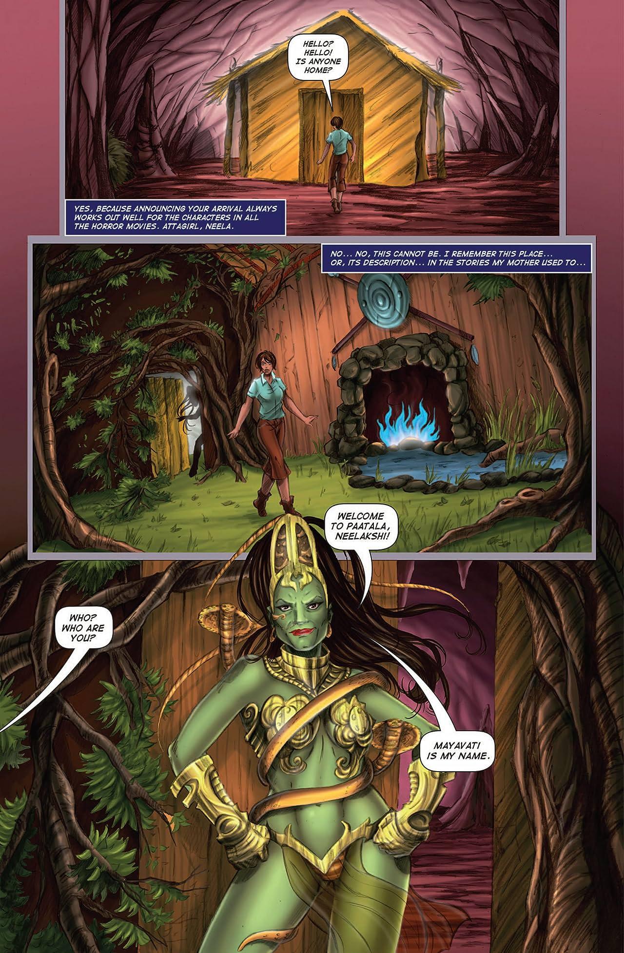 Neelakshi: The Quest for Amrit