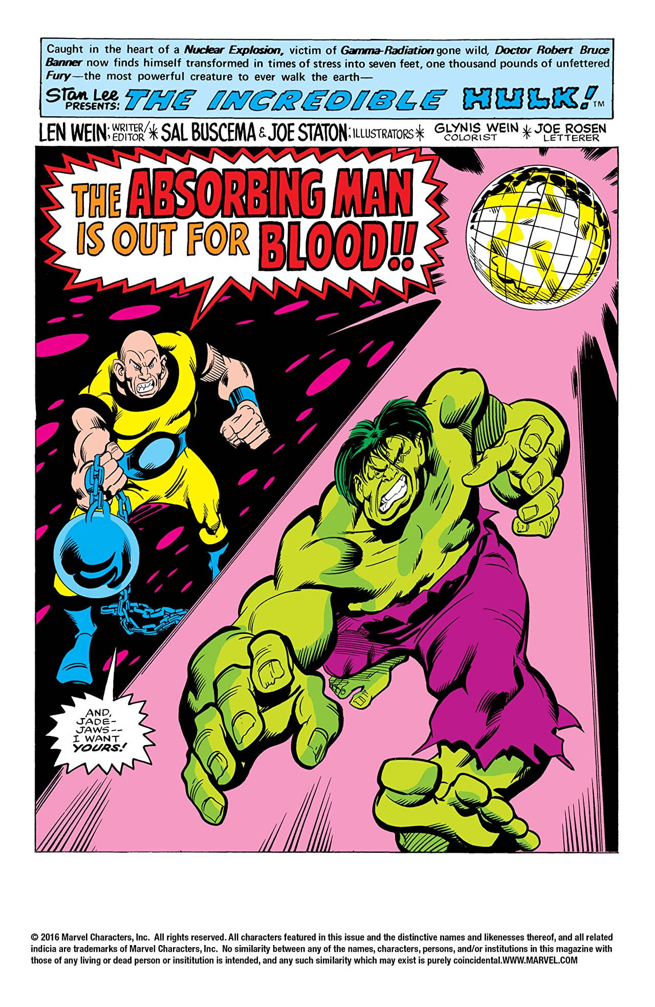Incredible Hulk (1962-1999) #209