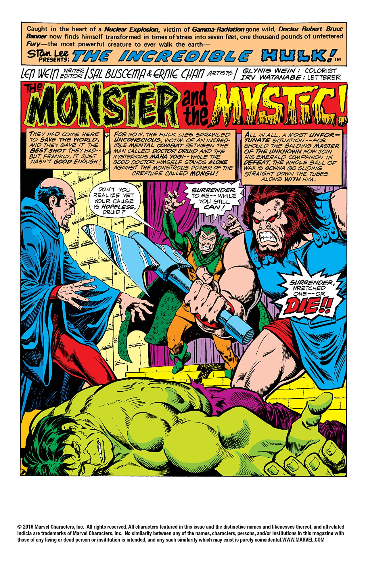Incredible Hulk (1962-1999) #211