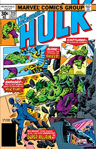 Incredible Hulk (1962-1999) #215
