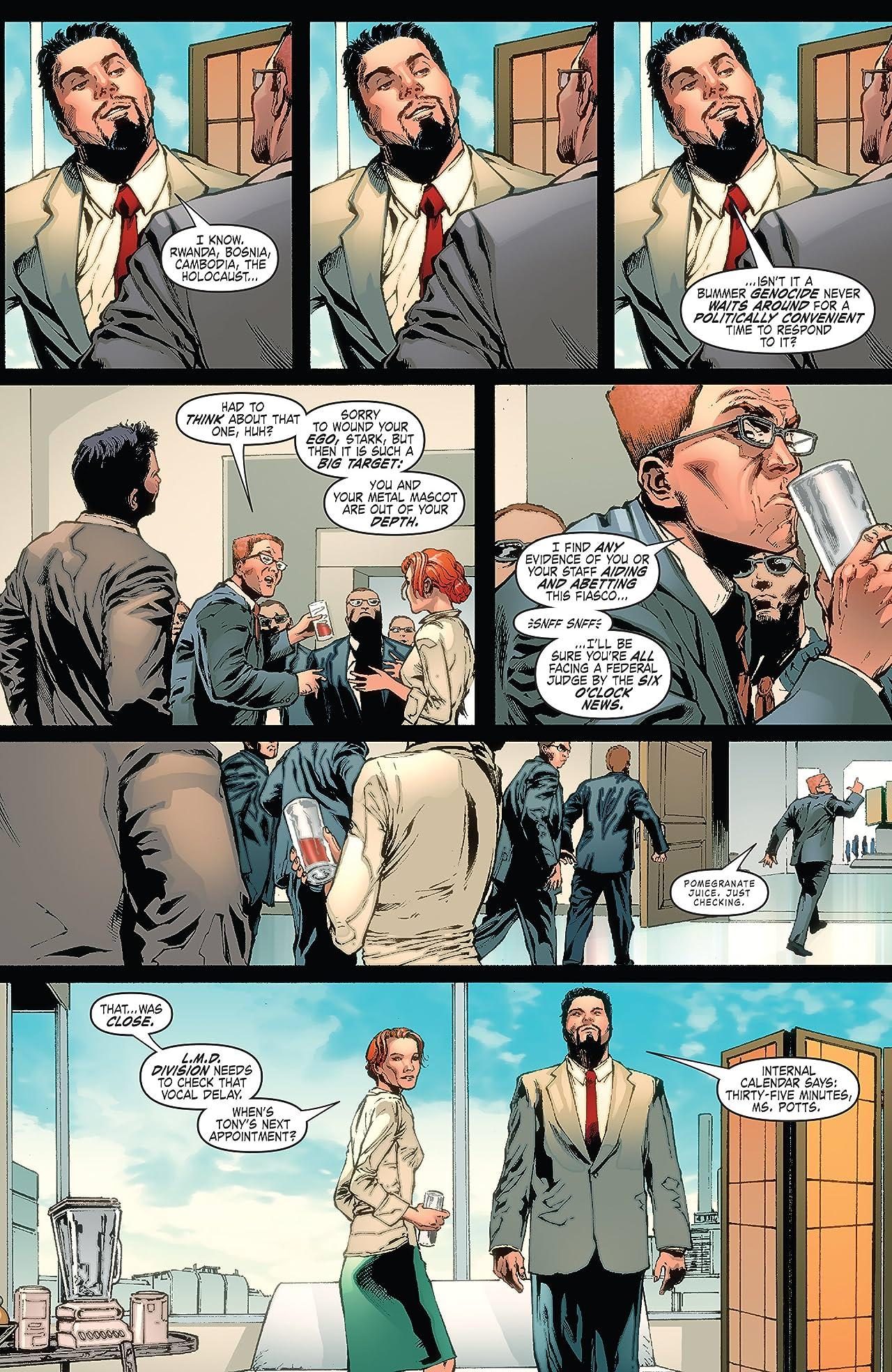 Iron Man: Legacy (2010-2011) #2