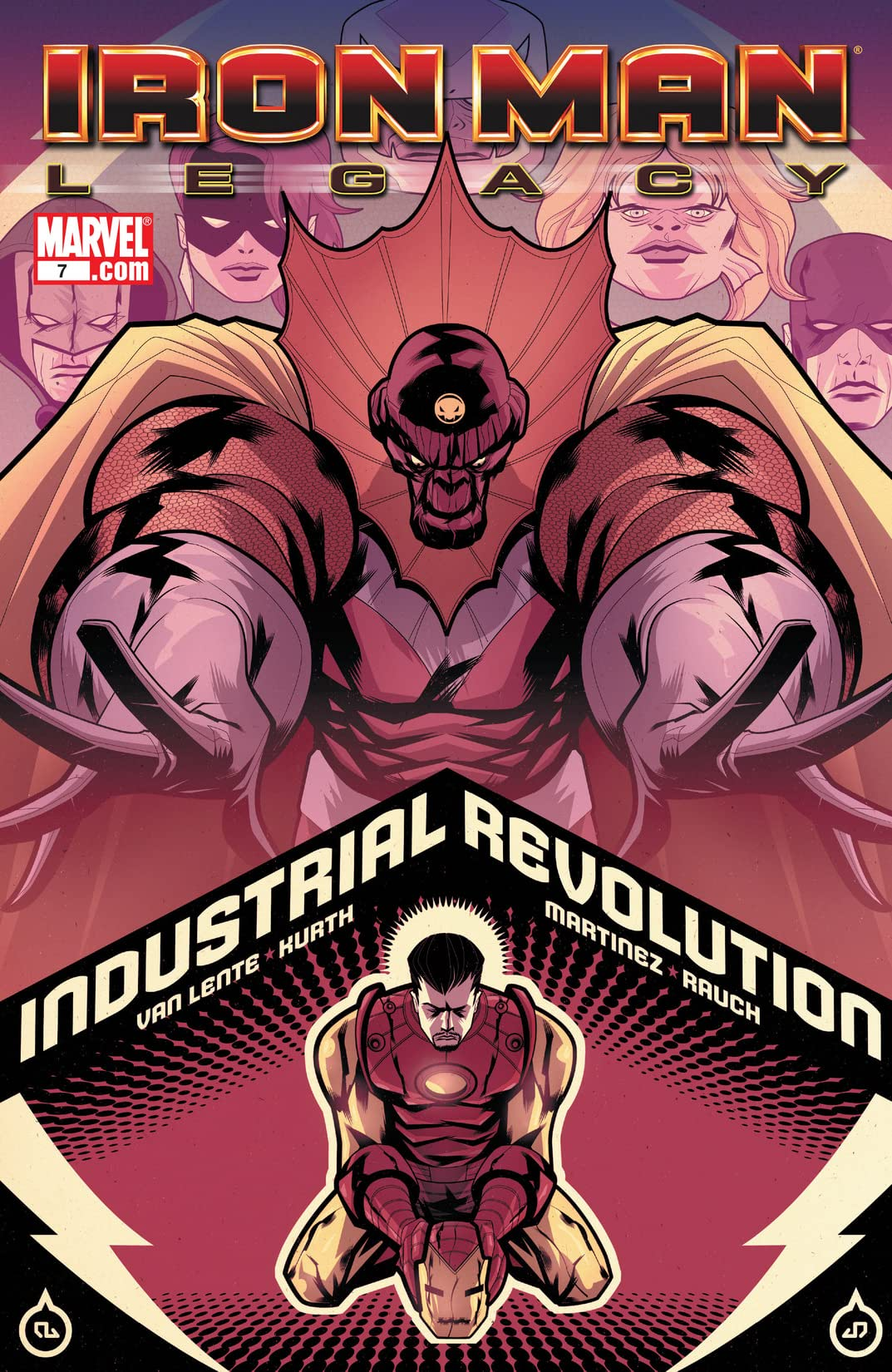 Iron Man: Legacy (2010-2011) #7