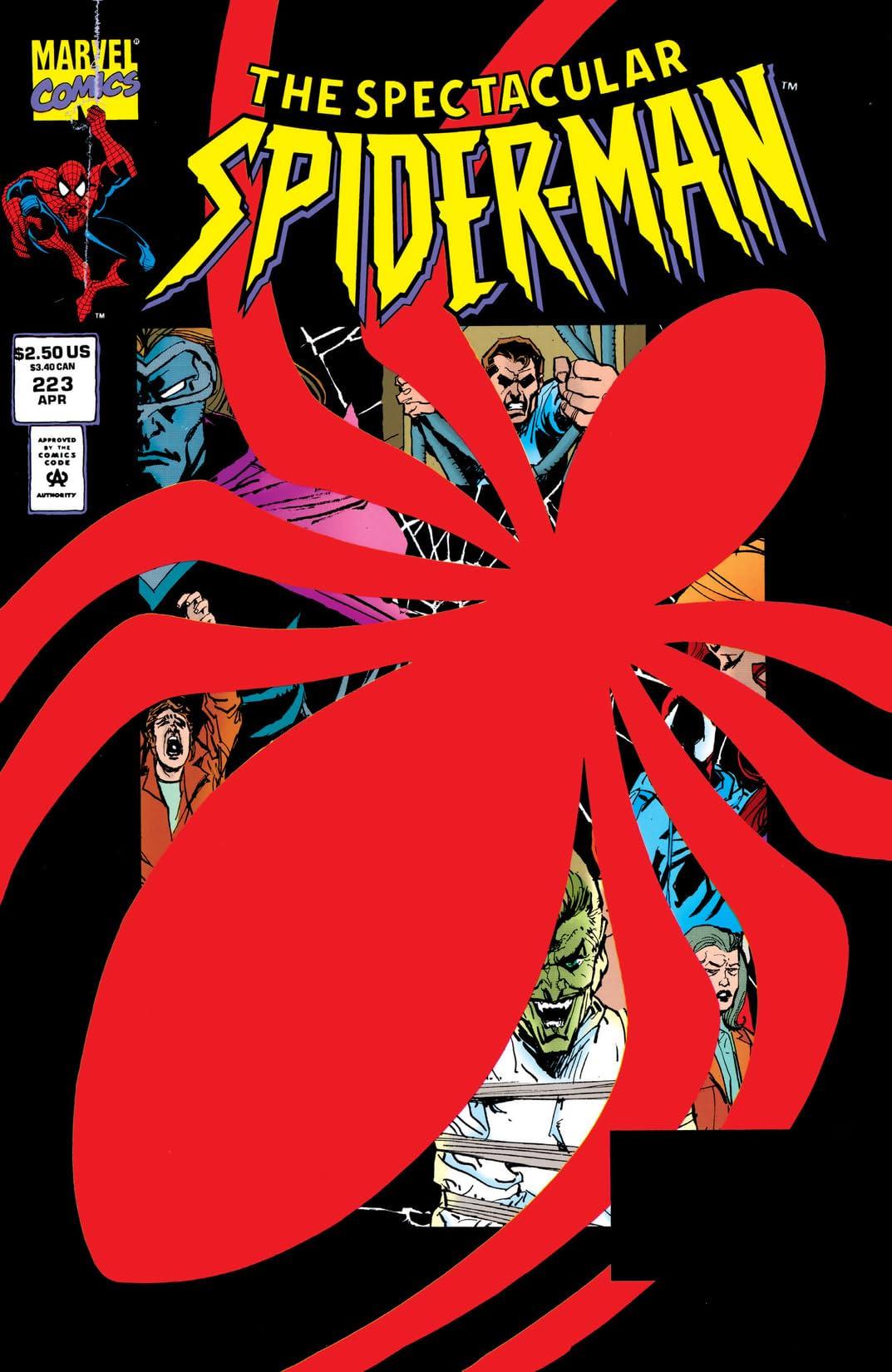 Peter Parker, The Spectacular Spider-Man (1976-1998) #223
