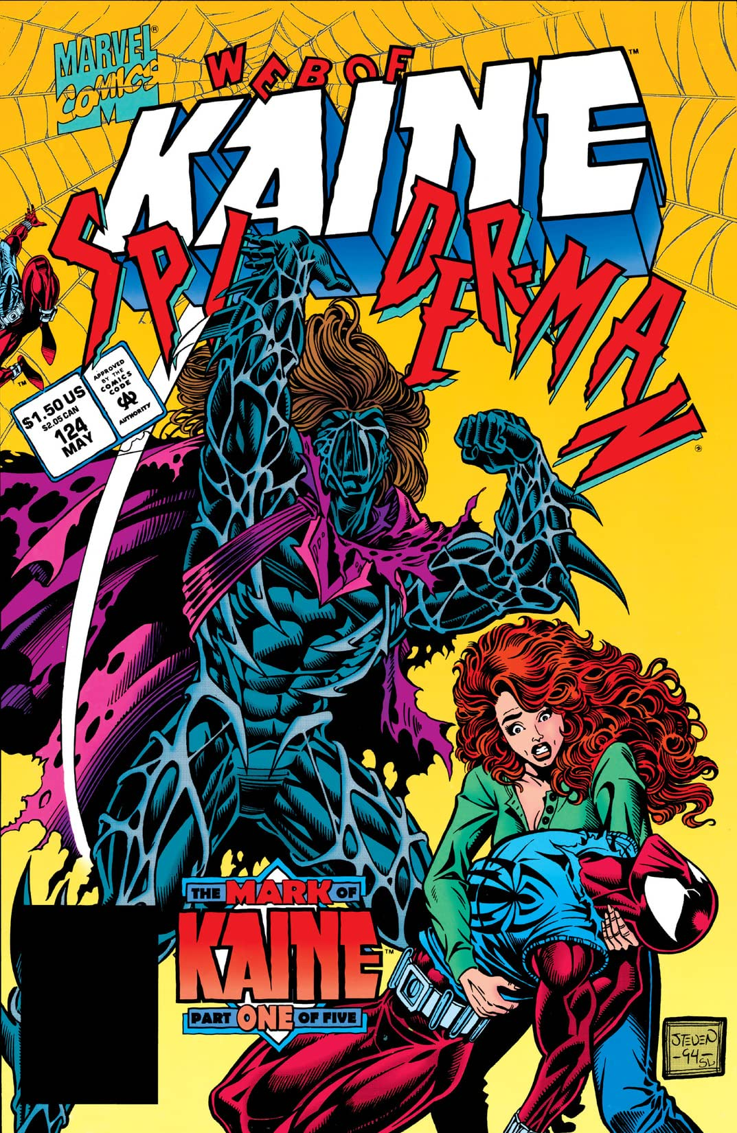 Web of Spider-Man (1985-1995) #124