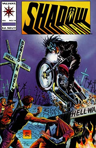 Shadowman (1992-1995) No.14