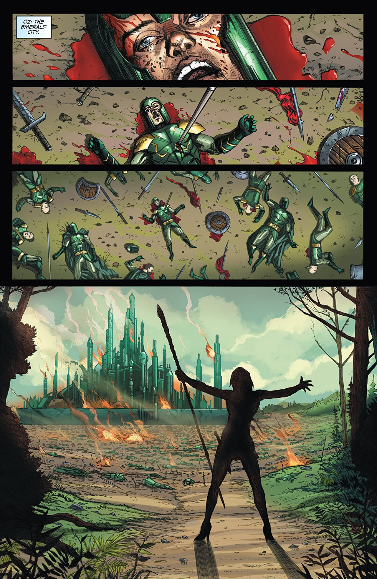 OZ: Warlord of OZ Vol. 2
