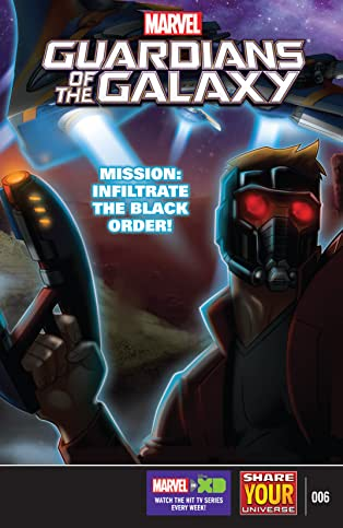 Marvel Universe Guardians of the Galaxy (2015-) #6