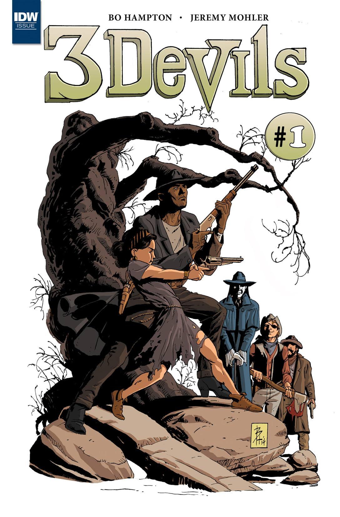3 Devils #1 (of 4)