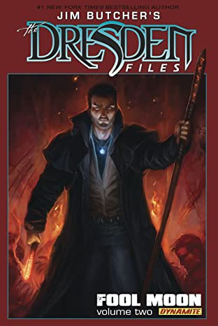 Jim Butcher's The Dresden Files: Fool Moon Tome 2