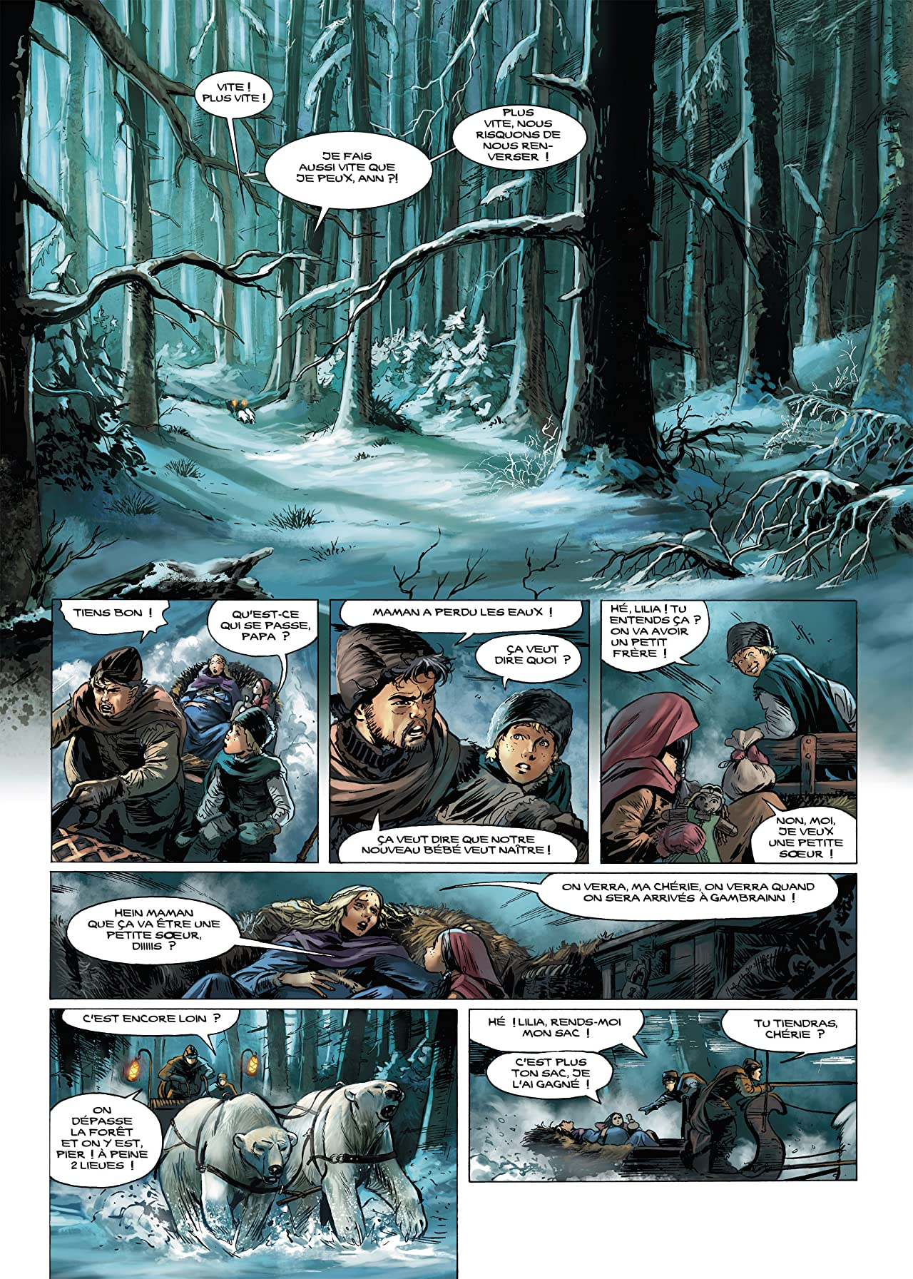 Elfes Vol. 11: Kastennroc