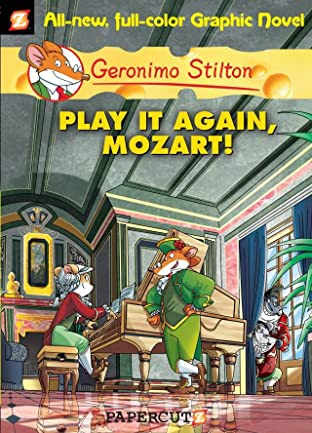 Geronimo Stilton Vol. 8: Play It Again Mozart Preview