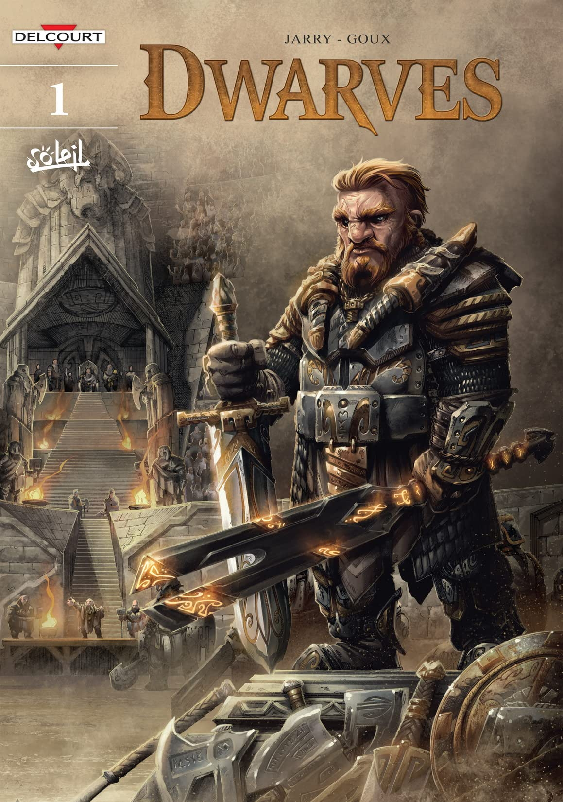 Dwarves Vol. 1: Redwin of the Forge