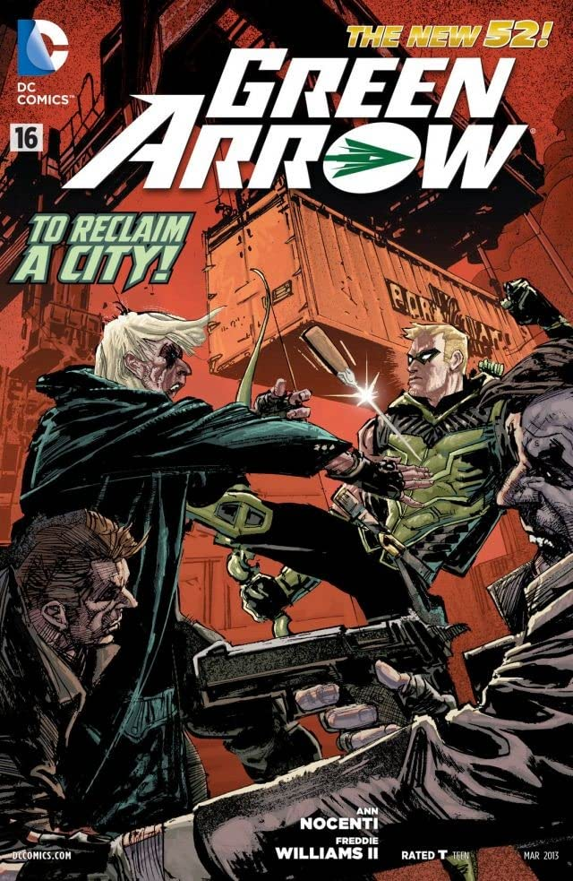 Green Arrow (2011-) #16