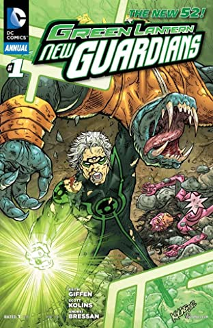 Green Lantern: New Guardians (2011-2015): Annual No.1
