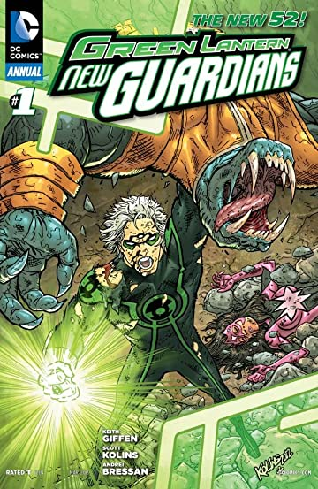 Green Lantern: New Guardians (2011-2015) #1: Annual