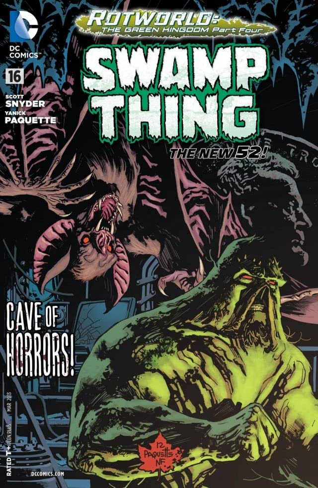 Swamp Thing (2011-2015) #16