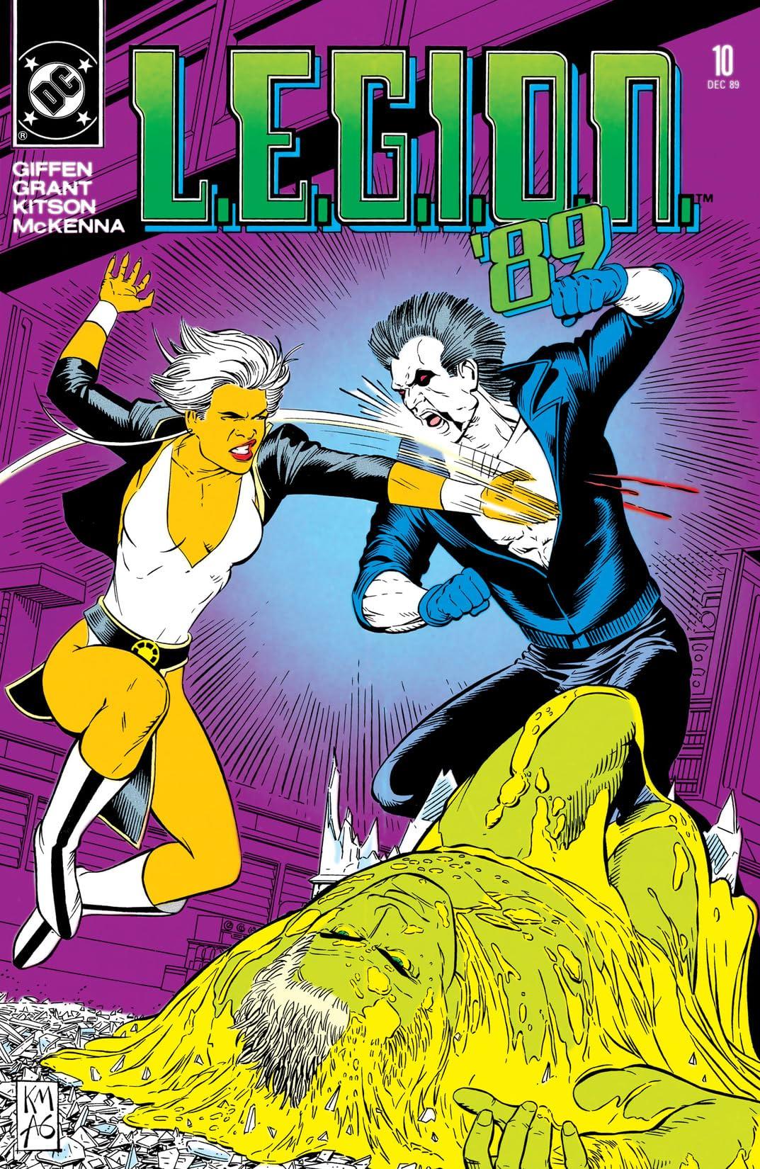 L.E.G.I.O.N. (1989-1994) #10