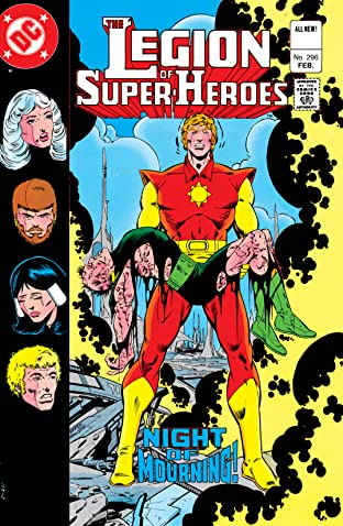 Legion of Super-Heroes (1980-1985) #296