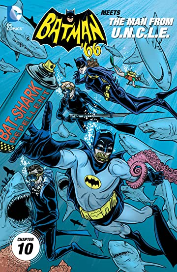 Batman '66 Meets the Man From UNCLE (2015-2016) #10