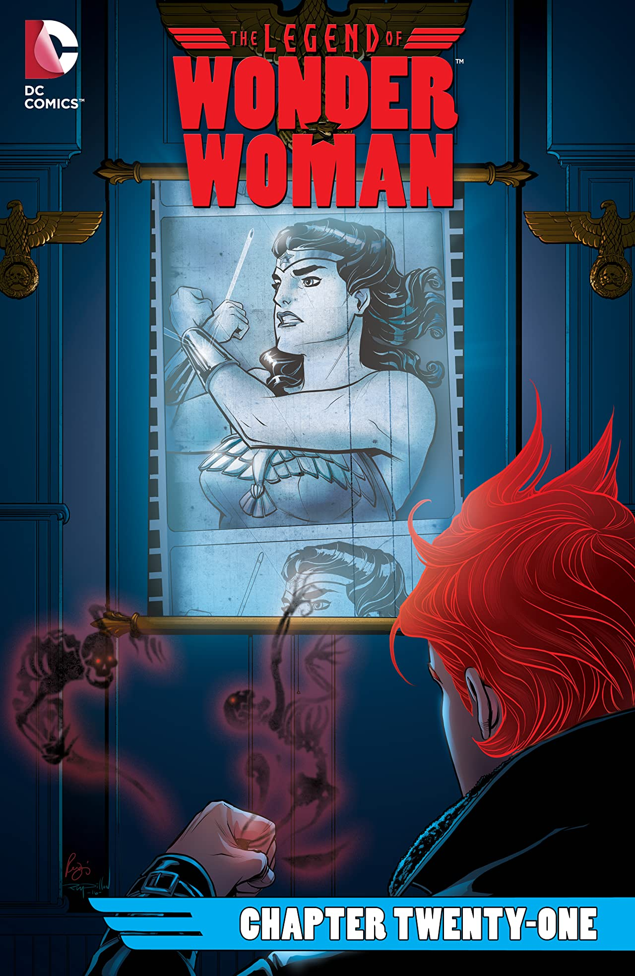 The Legend of Wonder Woman (2015-2016) #21