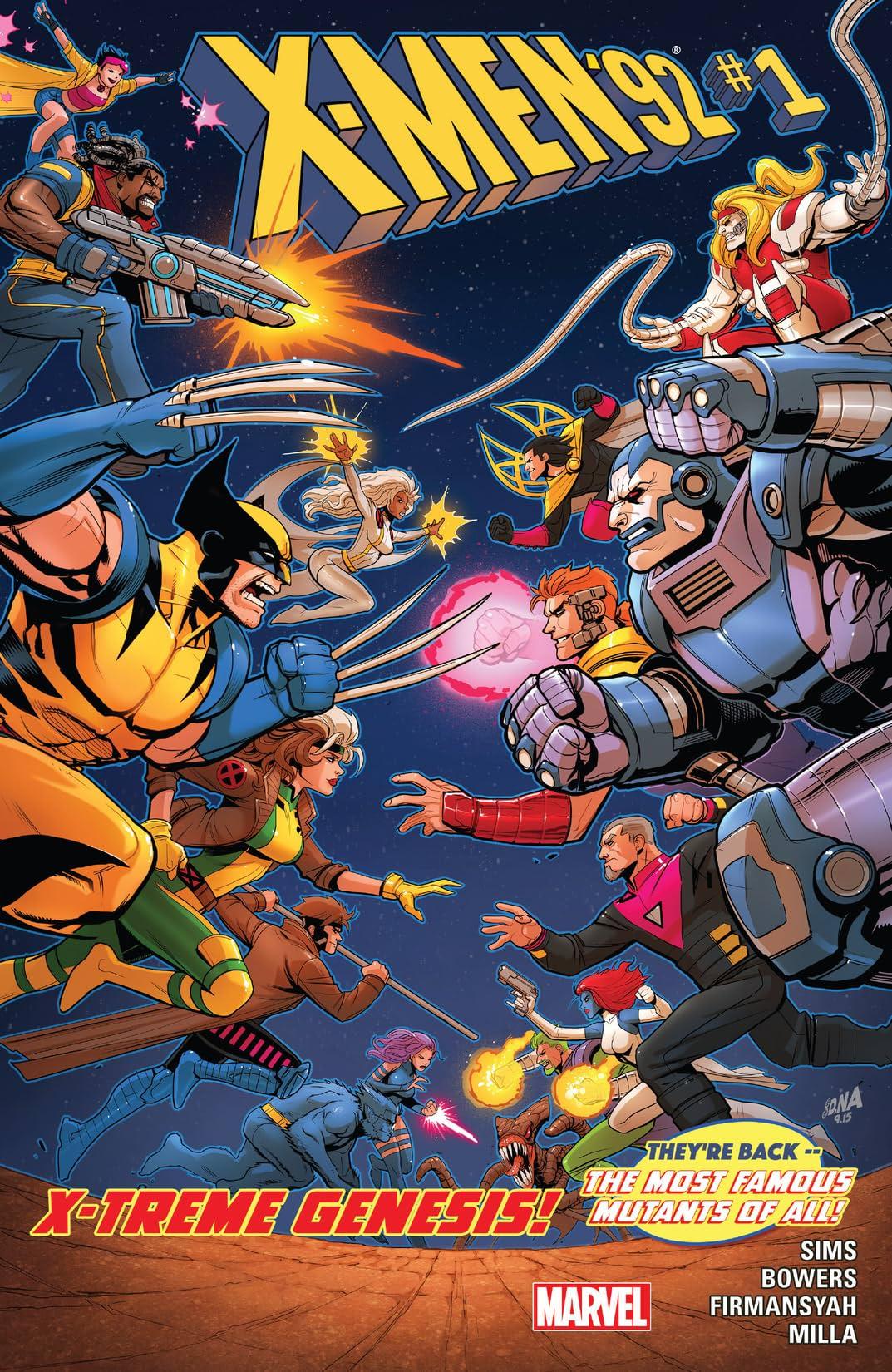X Men 92 2016 1 Comics By Comixology