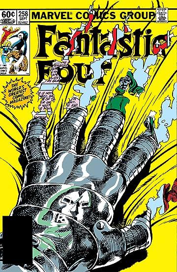 Fantastic Four (1961-1998) #258