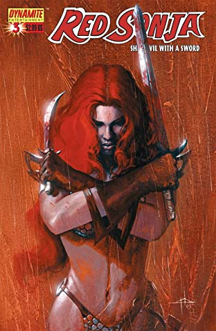 Red Sonja: She-Devil With a Sword No.3