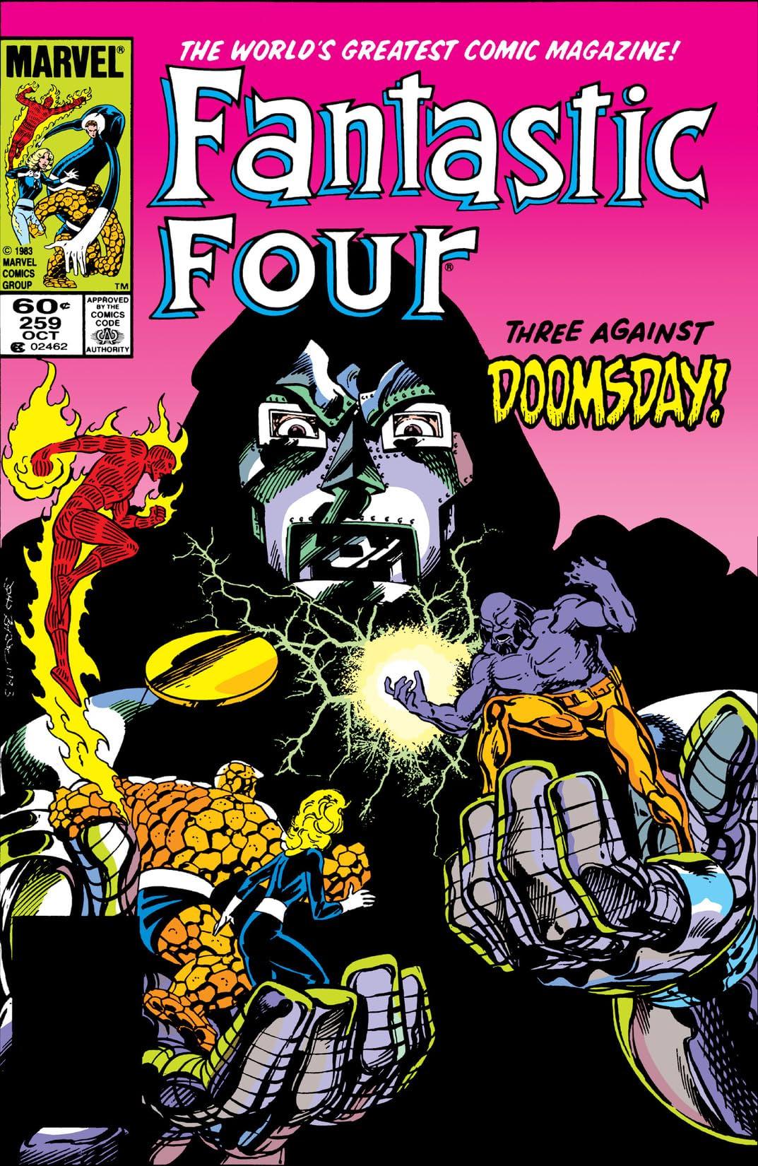 Fantastic Four (1961-1998) #259
