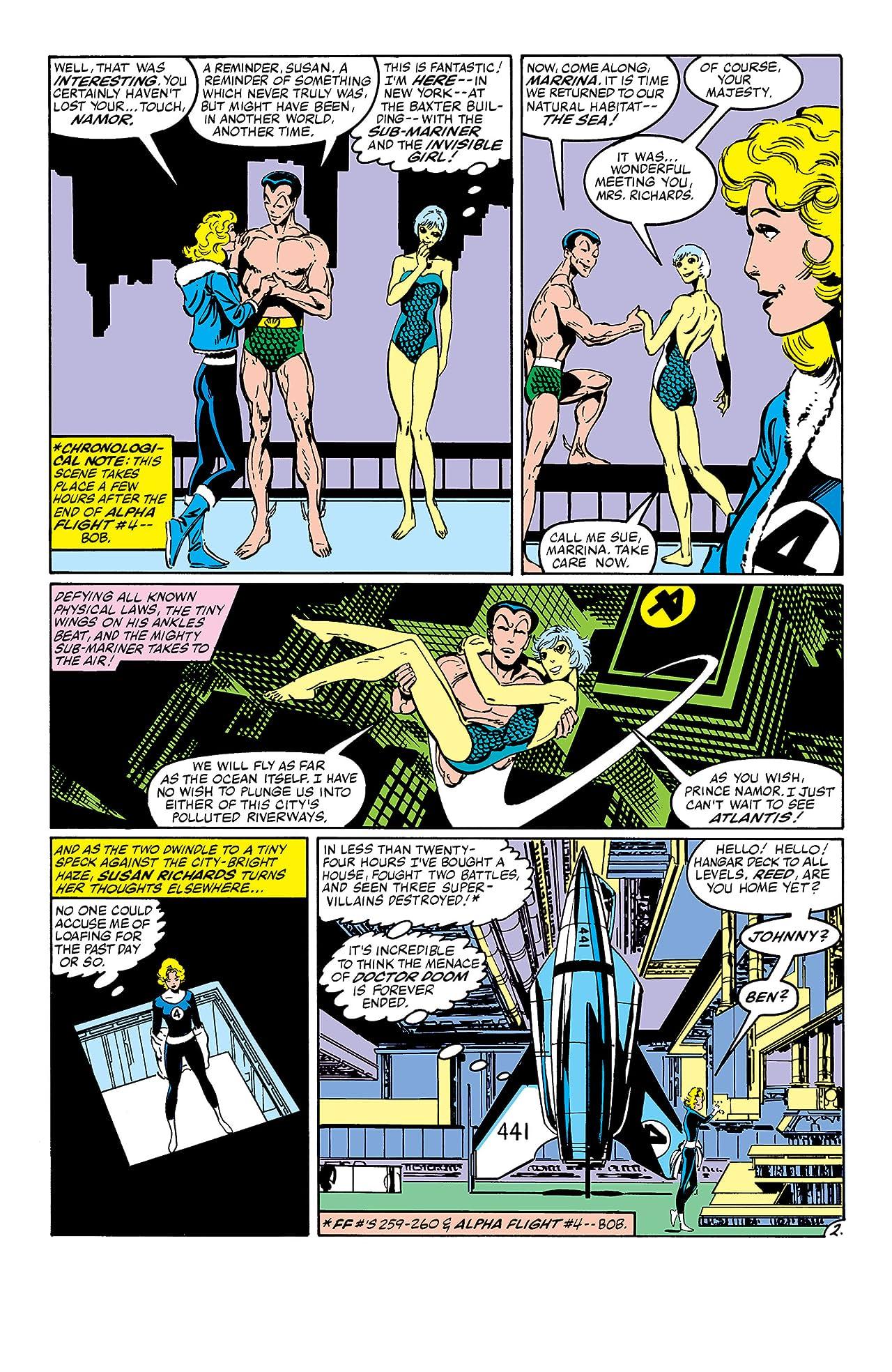Fantastic Four (1961-1998) #261