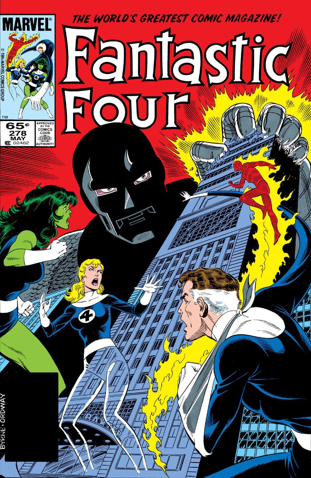 Fantastic Four (1961-1998) #278