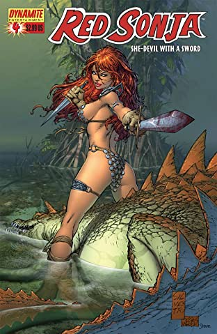Red Sonja: She-Devil With a Sword No.4