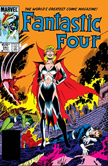 Fantastic Four (1961-1998) #281