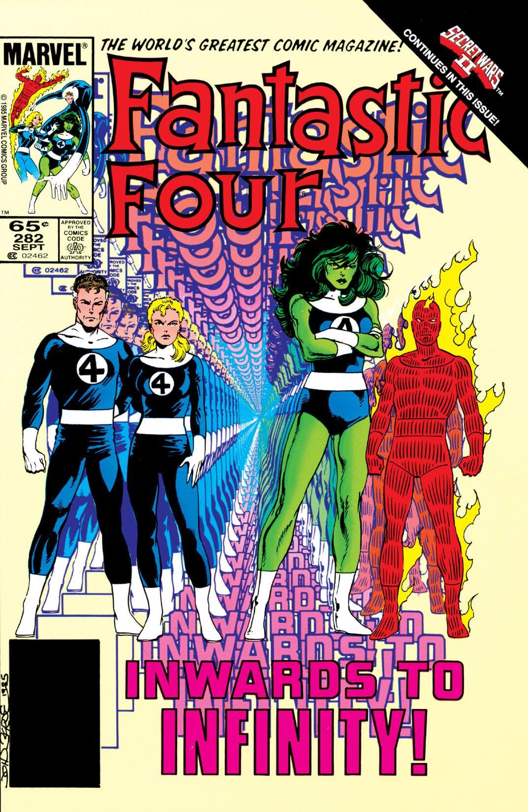 Fantastic Four (1961-1998) #282
