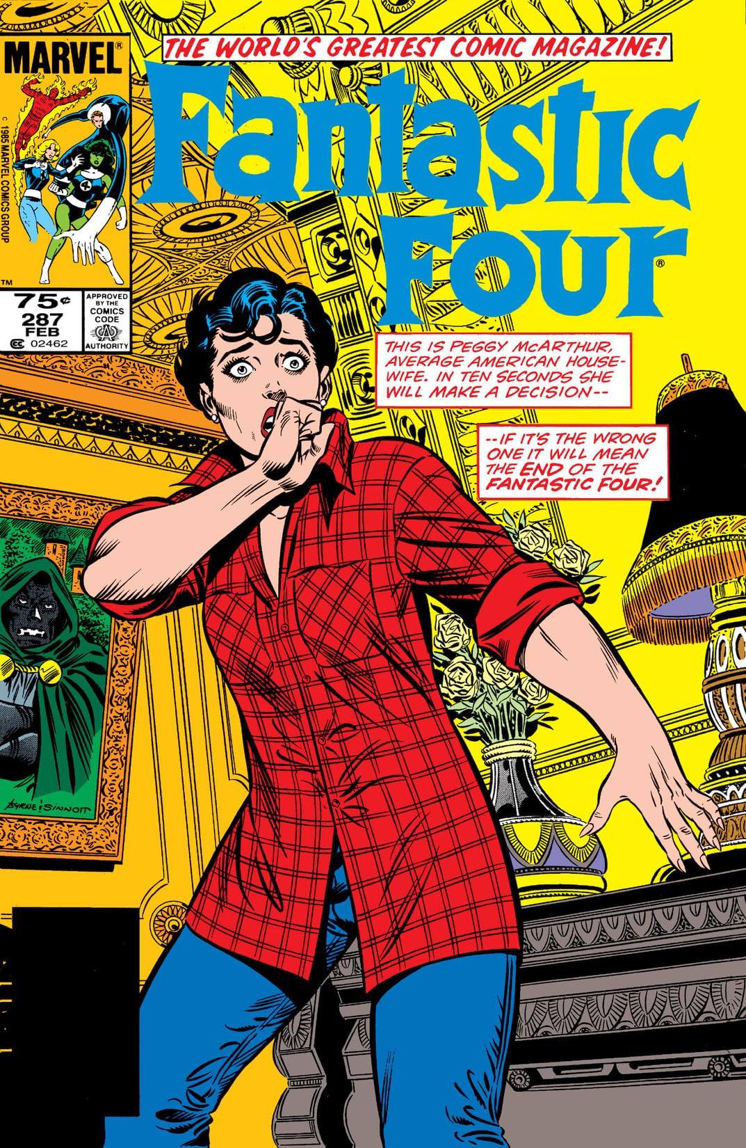 Fantastic Four (1961-1998) #287