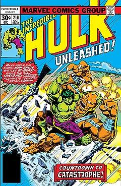 Incredible Hulk (1962-1999) #216
