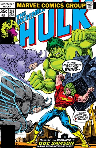 Incredible Hulk (1962-1999) #218